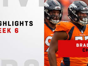 Highlights from Chubb's three-sack game | Week 6