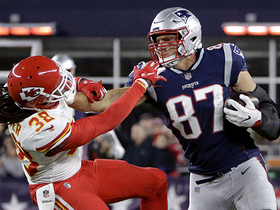 Gronk rivals Vance McDonald with massive stiff arm