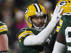 Mason Crosby sails 38-yard FG just inside uprights