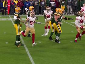 Rodgers' double pump-fake fools 49ers defense