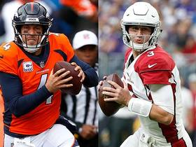Who will have a better game Thursday night: Case Keenum or Josh Rosen?