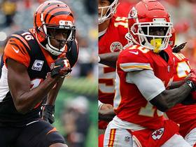 Which receiver would you rather build around: A.J. Green or Tyreek Hill?
