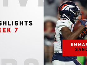Emmanuel Sanders' top plays | Week 7