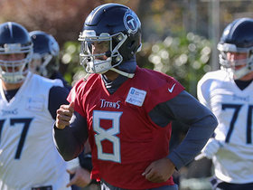 Stark: Titans worked on Mariota's decision-making this week