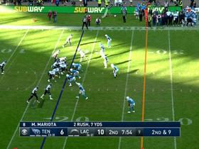 Dion Lewis makes slick juke on first-down run