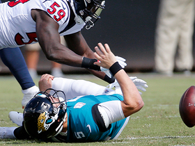 Bortles fumbles diving for first down, Clowney recovers for Texans