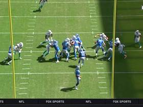 Kerryon Johnson breaks away for 71-yard run