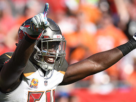 Entire Bucs defense is HYPED after big tackle by Lavonte David