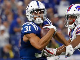 Quincy Wilson falls short of end zone after recovering Anderson fumble