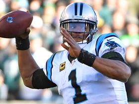 Cam throws on the run for successful two-point conversion
