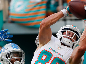 Danny Amendola's first Dolphins TD is 24-yard DIME from Brock Osweiler