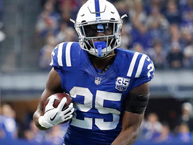 Marlon Mack strolls by Bills defense for 20-yard touchdown