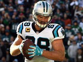 Panthers take the lead with goal-line TD pass to Olsen