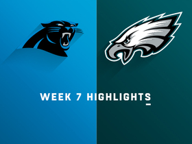 Panthers vs. Eagles highlights | Week 7