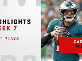 Wentz's top plays from 310-yard day | Week 7