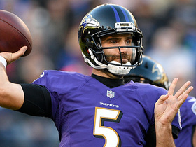 Flacco lobs perfect pass to John Brown on fourth down