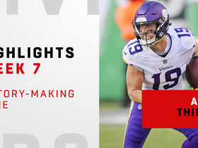 Highlights from Thielen's history-making game | Week 7