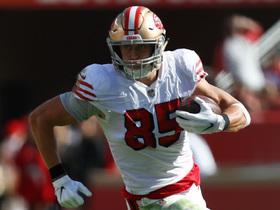 Kittle extends the play on 35-yard catch and run