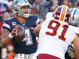 Ryan Kerrigan sneaks up on Prescott for sack