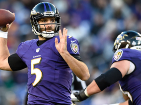 Flacco throws clutch TD to John Brown late in fourth quarter