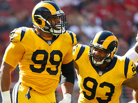 Aaron Donald sets new career high with fourth sack in game