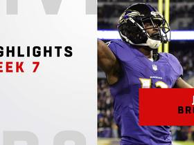 Every John Brown catch vs. Saints | Week 7