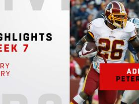 Every A.P. carry from 98-yard game | Week 7