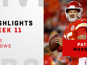 Mahomes' top throws from four-TD game | Week 7