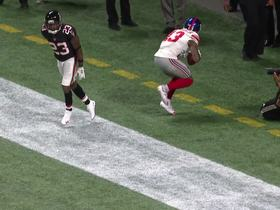 OBJ toe-drags in back of end zone for last-second TD
