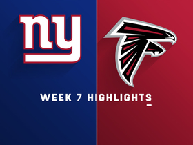 Giants vs. Falcons highlights | Week 7