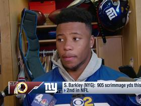 Saquon Barkley: We're playing with heart, but we're not executing