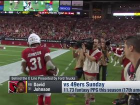 Will David Johnson have his breakout game? | NFL Fantasy Live