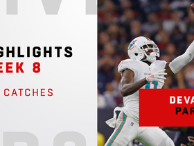 Top catches from DeVante Parker's career day | Week 8