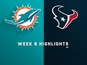 Dolphins vs. Texans highlights | Week 8