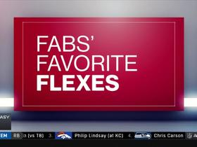 Fabs' Favorite Flexes Week 8  | NFL Fantasy Live