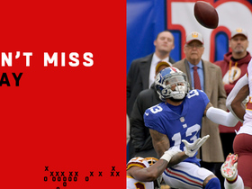 Can't-Miss Play: OBJ hauls in circus catch while being held