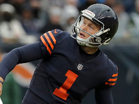Cody Parkey misses third field goal of the season