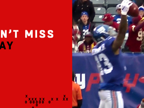 Can't-Miss Play: Odell reaches UP for one-handed grab vs. Norman