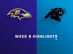 Ravens vs. Panthers highlights | Week 8