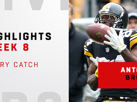 Every Antonio Brown catch vs. Browns | Week 8