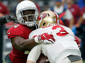 Markus Golden sacks Beathard to open game with three-and-out