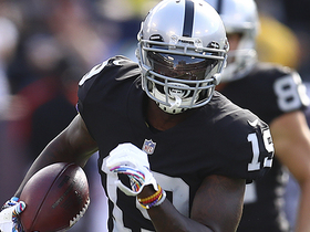 Brandon LaFell's first catch as Raider goes for 15 yards