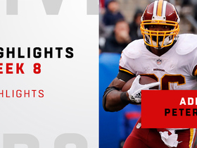 A.P.'s top plays from 156-yard game   Week 8
