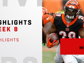 Highlights from Mixon's 138-yard day | Week 8