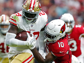 Jaquiski Tartt grabs Niners' first INT since Week 4