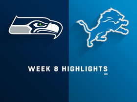 Seahawks vs. Lions highlights | Week 8