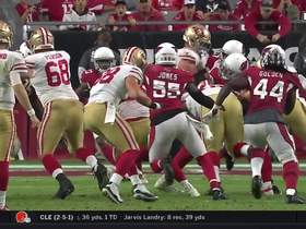 Beathard tosses nifty shovel pass to Kittle for first down