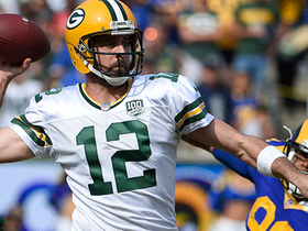 Rodgers gives Pack late lead on 40-yard TD dime