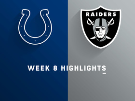 Colts vs. Raiders highlights | Week 8