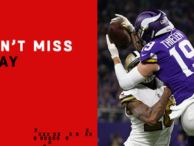 Can't-Miss Play: Thielen uses defender's helmet to pin pass